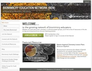 Bioimmicry Educators Network
