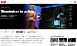 Janine Benyus' TED Talk: 2009